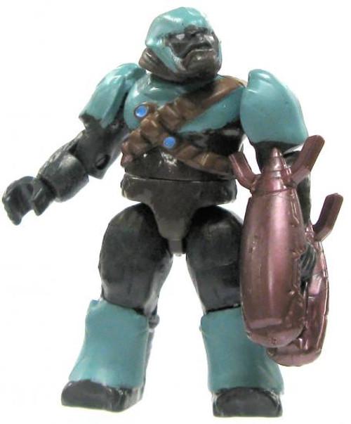 Mega Bloks Halo Loose Brute Minifigure [Teal Loose]