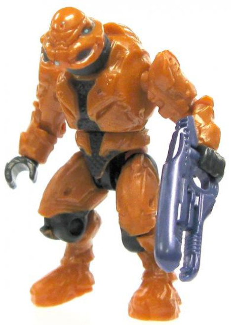 Mega Bloks Halo Loose Commando Elite Minifigure [Orange Loose]