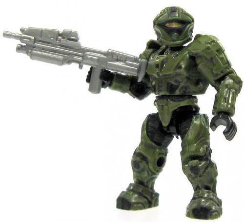 Mega Bloks Halo Loose Recon Spartan 2-Inch Minifigure [Green Loose]