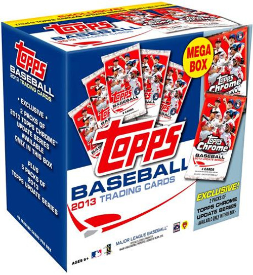 MLB 2013 Topps Update Baseball Cards Mega Box [Holiday]