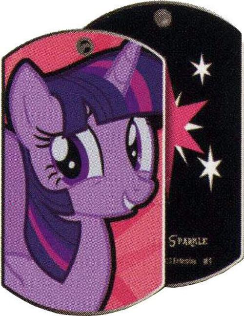 My Little Pony Friendship is Magic Dog Tags Twilight Sparkle Dog Tag #1 [Loose]