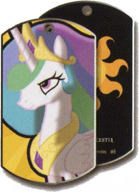 My Little Pony Friendship is Magic Dog Tags Princess Celestia Dog Tag #8 [Loose]