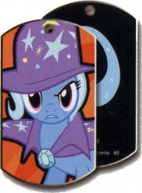 My Little Pony Friendship is Magic Dog Tags The Great & Powerful Trixie Dog Tag #9 [Loose]