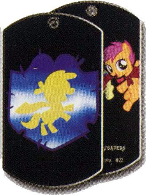 My Little Pony Friendship is Magic Dog Tags Cutie Mark Crusaders Dog Tag #22 [Loose]
