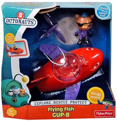 Fisher Price Octonauts Mission Vehicle Flying Fish GUP-B Playset