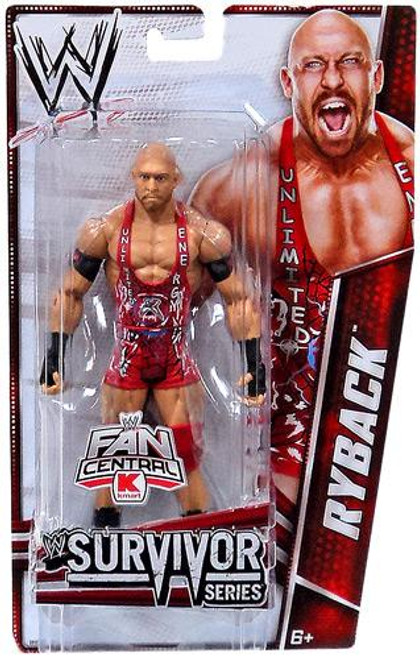 WWE Wrestling Survivor Series Ryback Exclusive Action Figure
