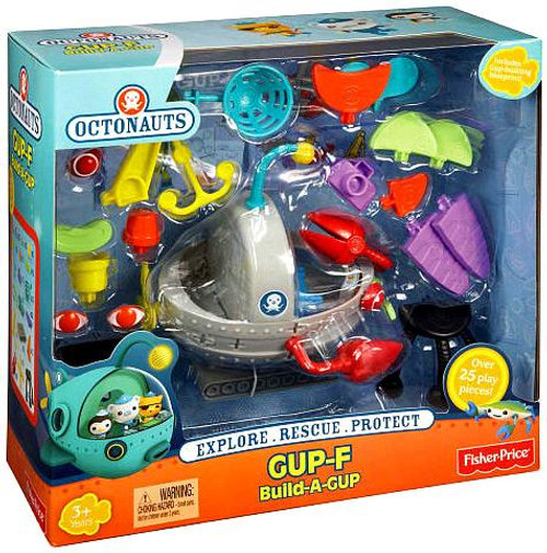 Fisher Price Octonauts Mission Vehicle GUP-F Build-a-GUP Playset