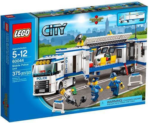 LEGO City Mobile Police Unit Set #60044