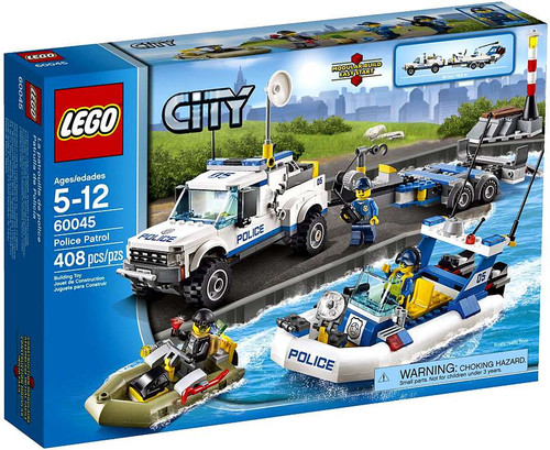 LEGO City Police Patrol Set #60045