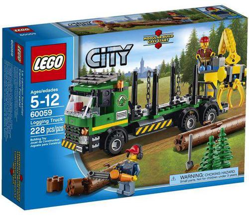 LEGO City Logging Truck Set #60059