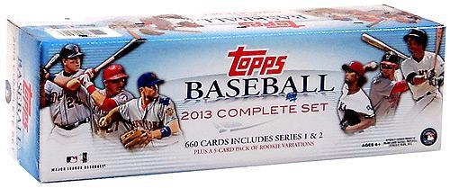 MLB 2013 Topps Baseball Cards Complete Set