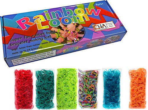 Rainbow Loom Starter Kit [with 3600 additional bands]