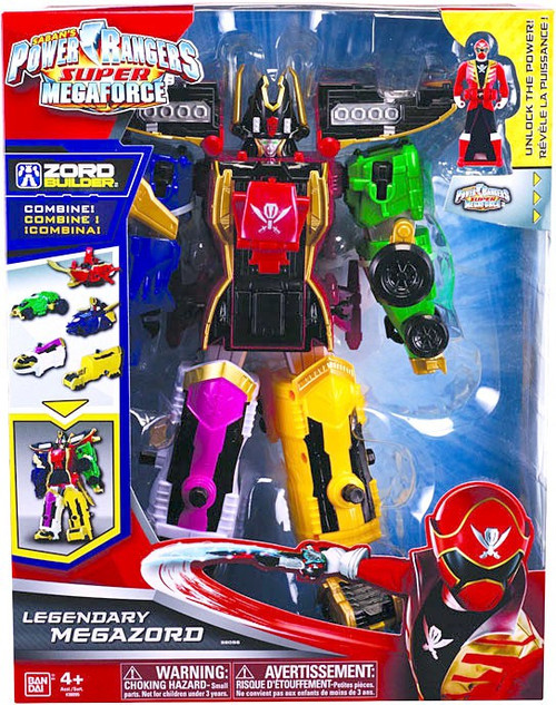 Power Rangers Super Megaforce Deluxe Legendary Megazord Action Figure