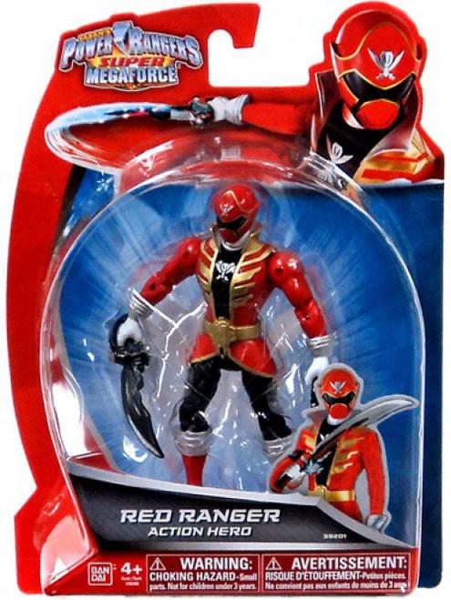 Power Rangers Super Megaforce Red Ranger Action Hero Action Figure