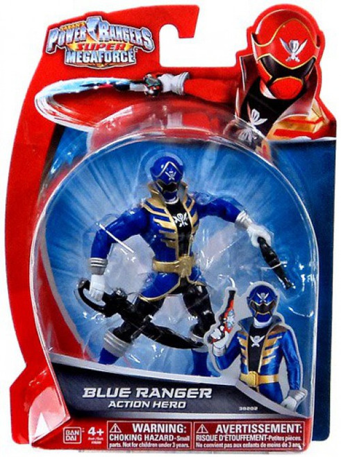 Power Rangers Super Megaforce Blue Ranger Action Hero Action Figure