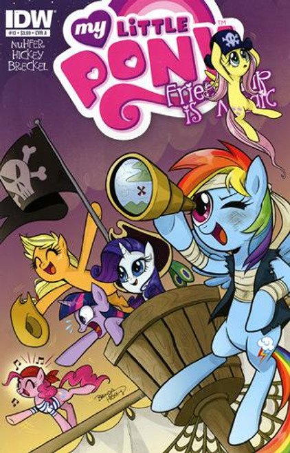 My Little Pony Friendship is Magic Comic Book #13 [Cover A]