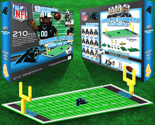 NFL Generation 1 Carolina Panthers Gametime Set