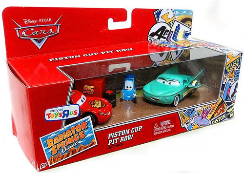 Disney Cars Radiator Springs Classic Piston Cup Pit Row Exclusive Diecast Car