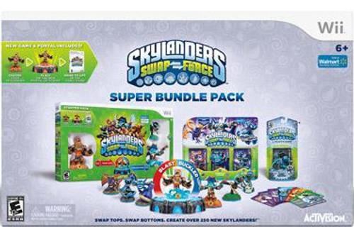 Skylanders Swap Force Wii Super Bundle Pack