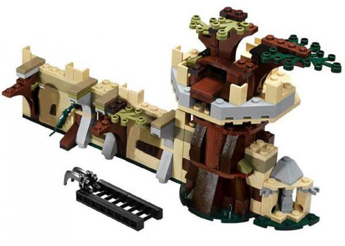 LEGO The Hobbit Terrain Sets Mirkwood Outpost [Loose]