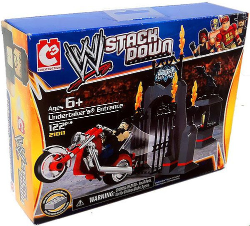 WWE Wrestling C3 Construction WWE StackDown Undertaker's Entrance Set #21011