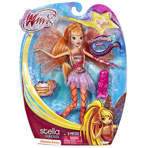 Winx Club Sirenix Stella 11.5-Inch Doll