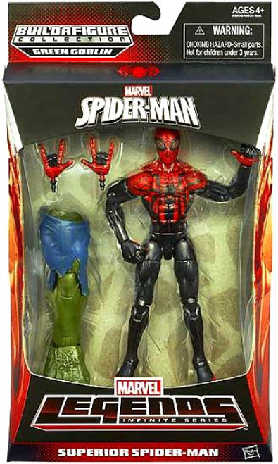 The Amazing Spider-Man 2 Marvel Legends Infinite Series Green Goblin Superior Spider-Man Action Figure