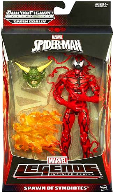 The Amazing Spider-Man 2 Marvel Legends Infinite Series Green Goblin Carnage Action Figure [Spawn of Symbiotes]