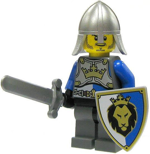 LEGO Castle Loose King's Knight Minifigure [Conical Helm Loose]