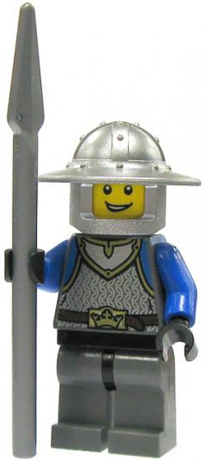 LEGO Castle Loose King's Knight Minifigure [Spear Loose]
