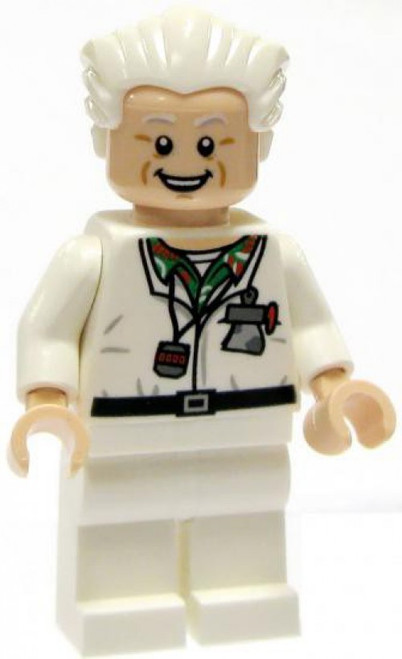 LEGO Back to the Future Loose Doc Brown Minifigure [Loose]