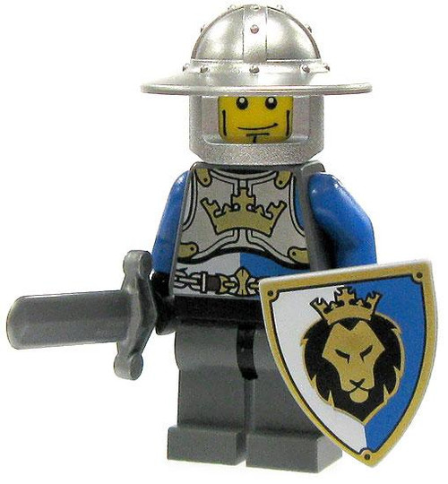 LEGO Castle Loose King's Knight Minifigure [Brimmed Helm Loose]