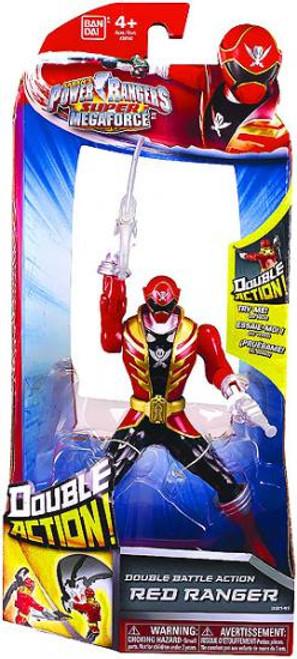 Power Rangers Super Megaforce Double Battle Action Red Ranger Action Figure