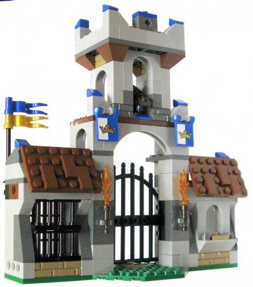 LEGO Castle Terrain Sets King's Gatehouse [Loose]