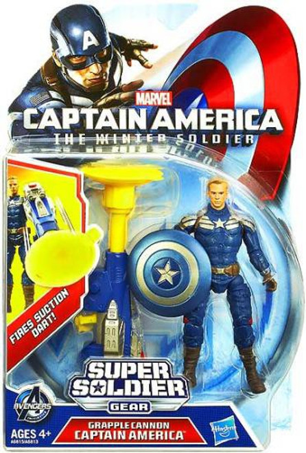 The Winter Soldier Super Soldier Gear Grapple Cannon Captain America Action Figure