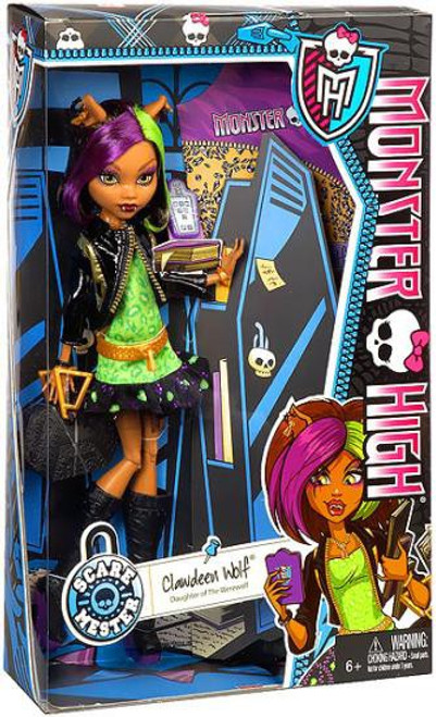 Monster High Scaremester Clawdeen Wolf 10.5-Inch Doll