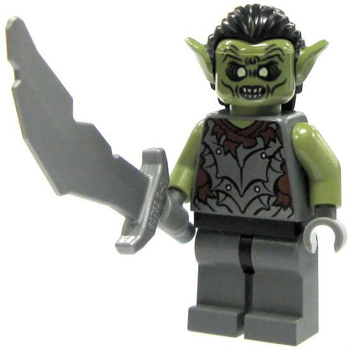 LEGO The Lord of the Rings Loose Orc of Moria Minifigure [Loose]