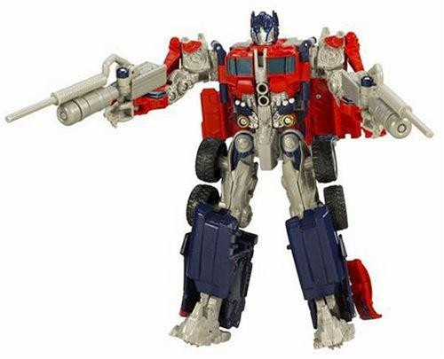 Transformers Movie Loose Voyager Optimus Prime Voyager Action Figure [Loose]