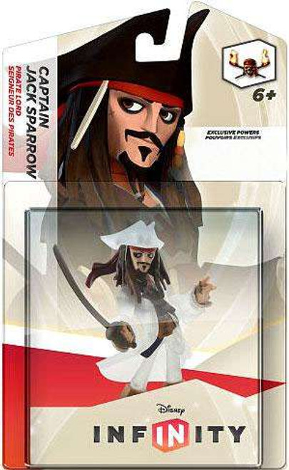 Pirates of the Caribbean Disney Infinity Jack Sparrow Exclusive Game Figure [Crystal]