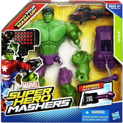 Marvel Super Hero Mashers Battle Upgrade Hulk Action Figure