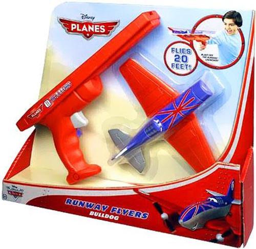 Disney Planes Runway Flyers Bulldog Playset