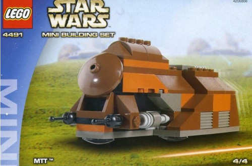 LEGO Star Wars The Phantom Menace Mini Building Sets MTT Trade Federation Set #4491 [New]