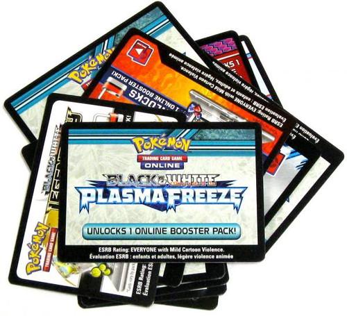 Pokemon Black & White Lot of 25 Promo Code Online Code Card Single Cards