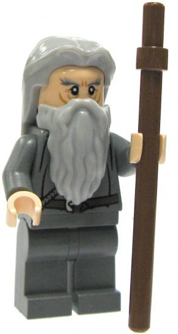 LEGO The Lord of the Rings Loose Gandalf Minifigure [No Hat or Cloak Loose]