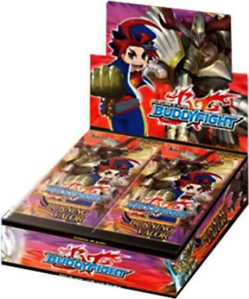 Future Card BuddyFight Burning Valor Character Pack Booster Box BFE-CP01