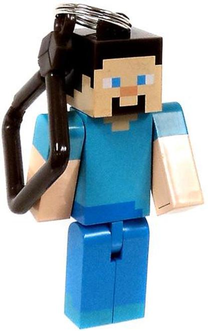 Minecraft Hangers Series 1 Steve 3-Inch Keychain [Loose]