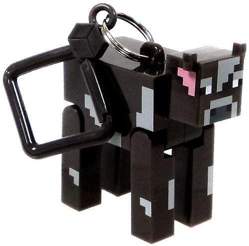 Minecraft Hangers Series 1 Cow 3-Inch Keychain [Loose]