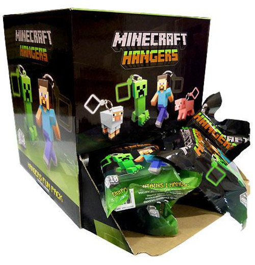 Minecraft Hangers Series 1 3-Inch Mystery Box [24 Packs]