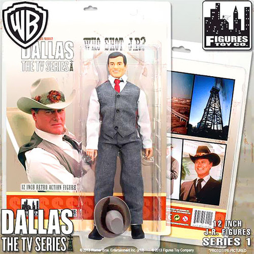 Dallas Series 1 J.R. Ewing 12 Inch Action Figure [Who Shot J.R.?]