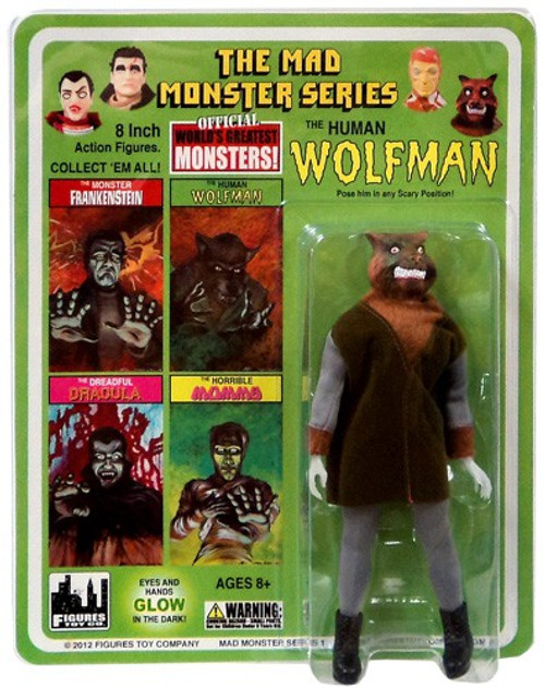 The Mad Monster Series The Human Wolfman Action Figure